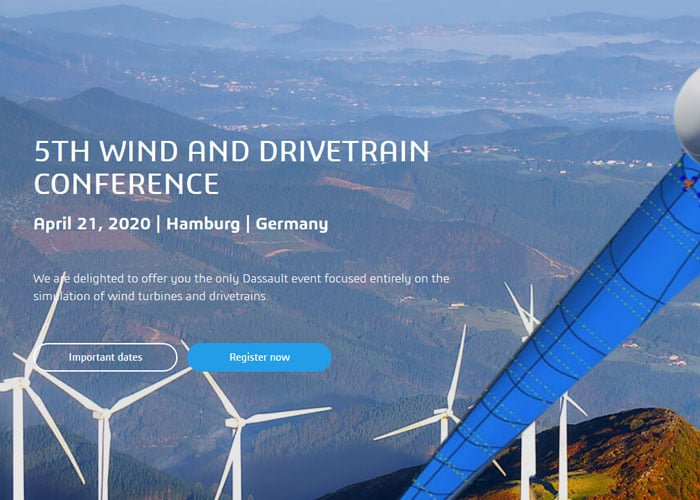 "elb|sim|engineering auf der ""5. Wind and Drivetrain Conference"" am 21. April 2020"